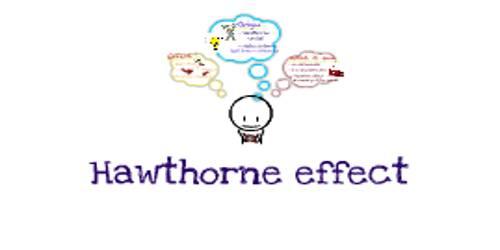 Hawthorne Effect – Theory of Motivation