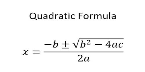 Theory of Quadratic Equation Formula