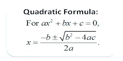Sign of the Quadratic Expression