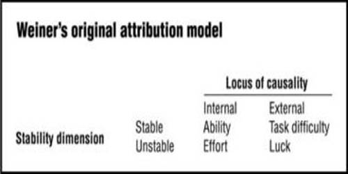attribution theory in the workplace