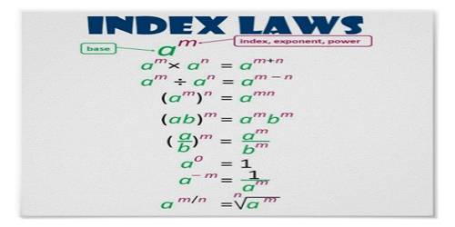 Laws Of Indices Assignment Point