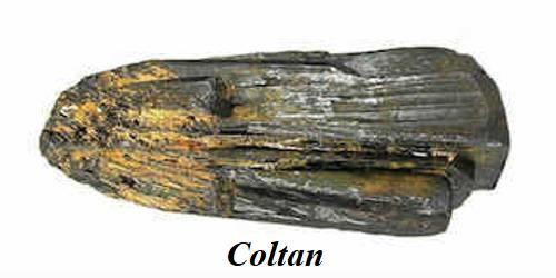 Coltan Minerals