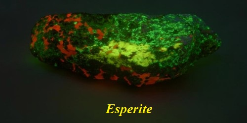 Esperite: Properties and Occurrences