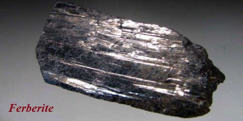 Ferberite: Properties and Occurrences