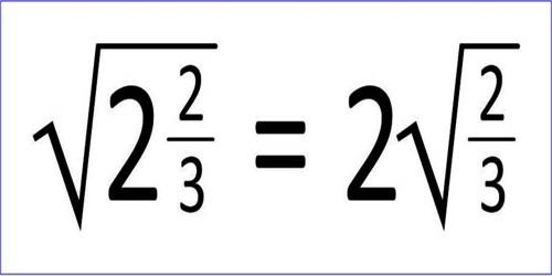 Express of a Simple Quadratic Surd