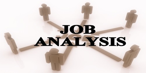 Concept of Job Analysis