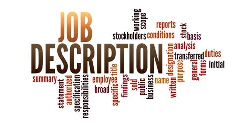Contents of Job Description Statement