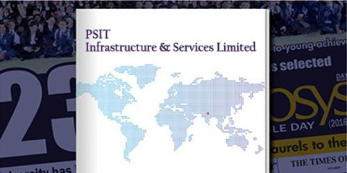 Annual Report 2016 of PSIT Infrastructure and Services Limited