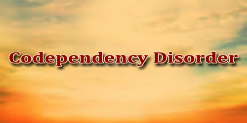 Codependency Disorder