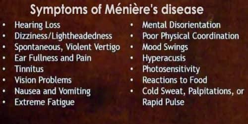 Ménière's disease (Causes, Symptoms, and Complications