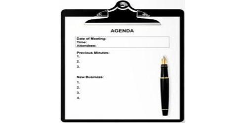 Sample Program Agenda Format