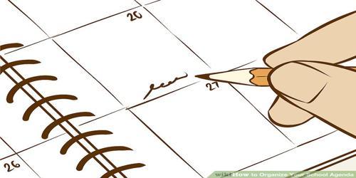 Sample School Agenda Format