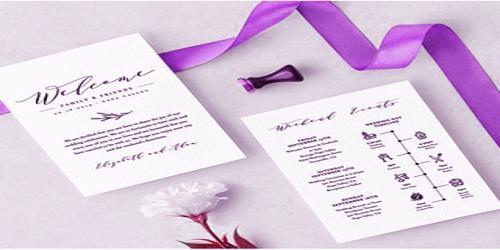Sample Wedding Agenda Format