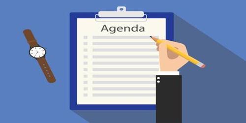 SampleProject Meeting Agenda Format
