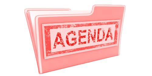 SampleBoard Meeting Agenda Format