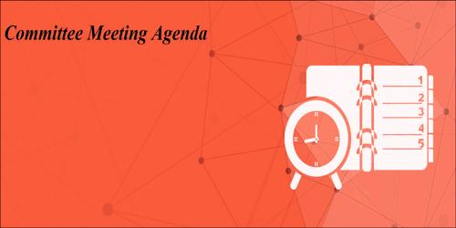 Committee Meeting Agenda