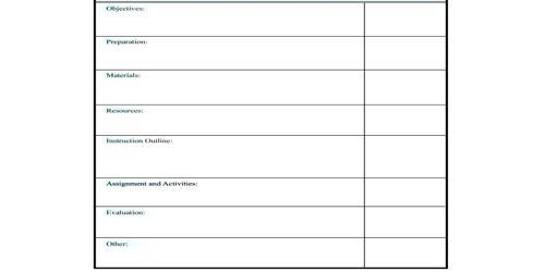 Sample Daily Meeting Agenda Format