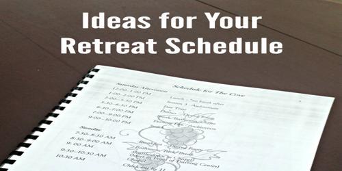 Sample Executive Retreat Itinerary Agenda Format