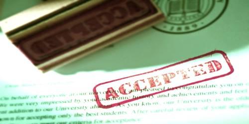 Sample Format for College Acceptance Letter