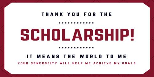 How to write Scholarship Appreciation Letter?