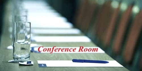 Request letter for Conference Room in or outside of the office