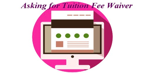 Request Letter Asking for Tuition Fee Waiver of Deserving Students