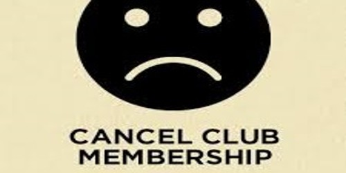 Sample Request Letter to Cancel Club Membership