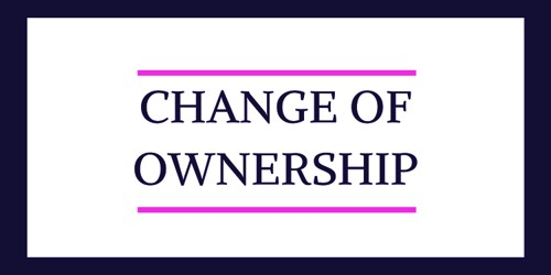 Sample Change of Ownership Announcement Letter Format