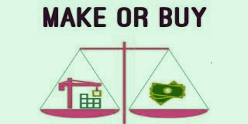 Concept of Make or Buy Decisions