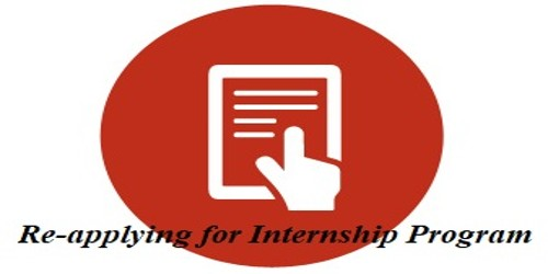 Re-applying Request for the Internship program for another semester