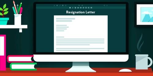 Sample Resignation Letter format for Own Business