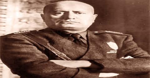 Biography of Benito Mussolini