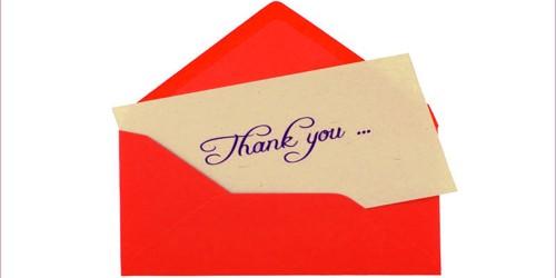 Sample Gratitude Letter to Hotel Management