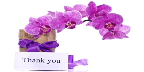 Sample Letter to Thanks For gift Sweets