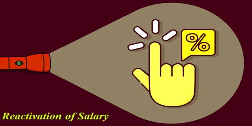 Sample Request Letter for Reactivation of Salary