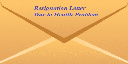 Resignation Letter Due To Health And Stress from www.assignmentpoint.com