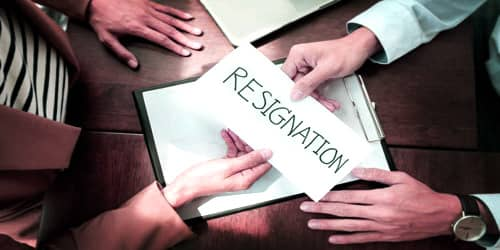 Sample Resignation Letter format for Health Problems