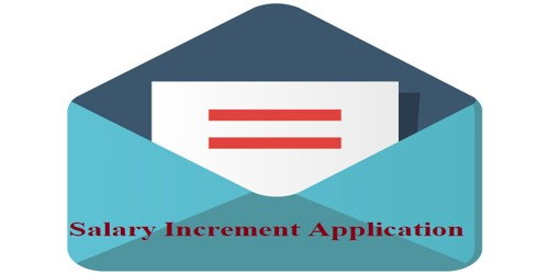 Sample Salary Increment Application for All Members