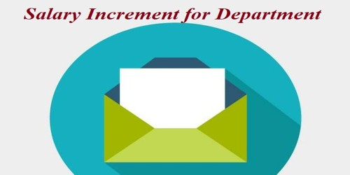 Sample Request Letter for Salary Increment for Department