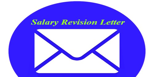 Sample Salary Revision Letter format for Company Employees