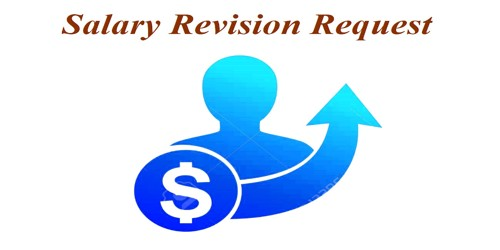 Sample Salary Revision Request Letter from Company
