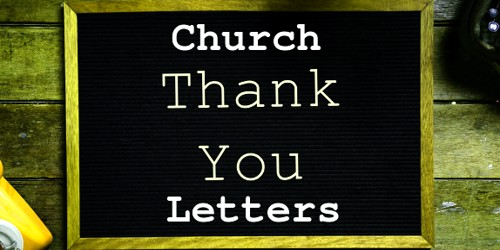 Appreciation Letter to Church after Naming Ceremony ...