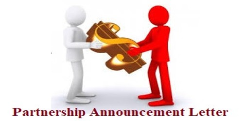 How to write a Partnership Announcement Letter?