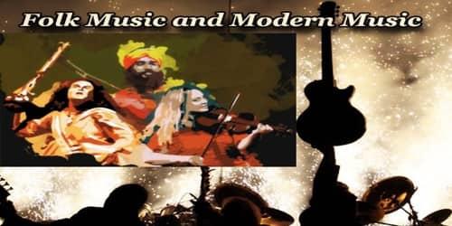 Folk Music and Modern Music