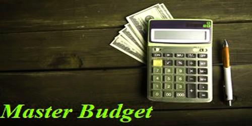 Process of Preparing Master Budget