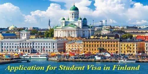 Sample Application Format for Student Visa in Finland