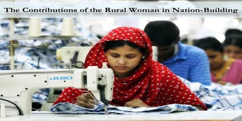 The Contributions of the Rural Woman in Nation-Building