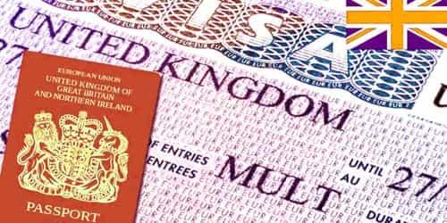 Sample Visa Application for UK