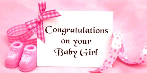 Wish your Brother for his New Baby Girl