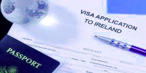 Sample Application For Irish Visa For Tour Or Visit